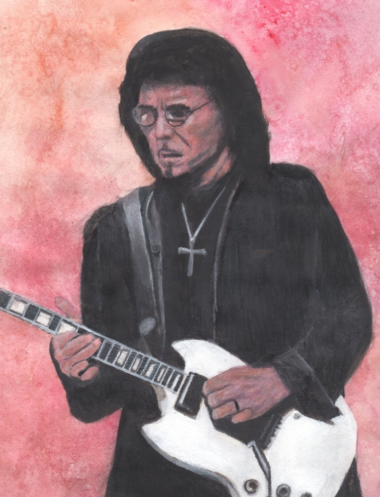 Tony Iommi by DHWallArtist